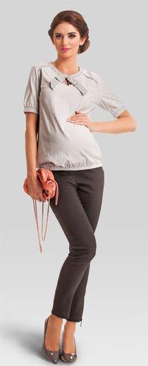 Daisy summer летняя рубашка в горошек для беременных