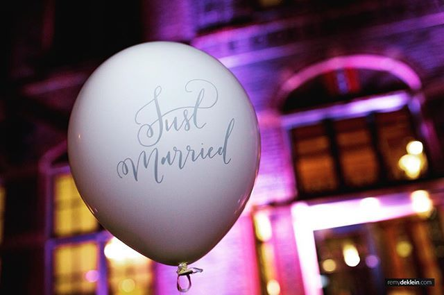 💍🎈 #justmarried #wedding #party #event #amsterdam #purple #business #events #photography #photographer