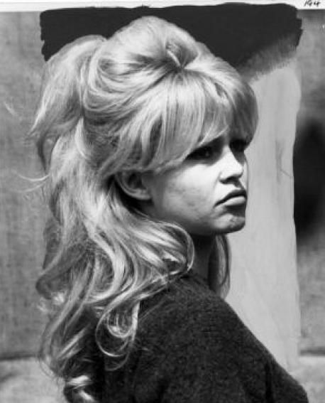 LOVE Brigitte Bardot hair, half up. I have less bangs, but it looks so sexy!