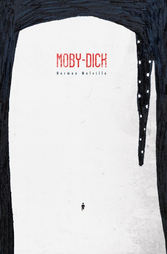 Moby Dick cover by Umberto Scalabrini