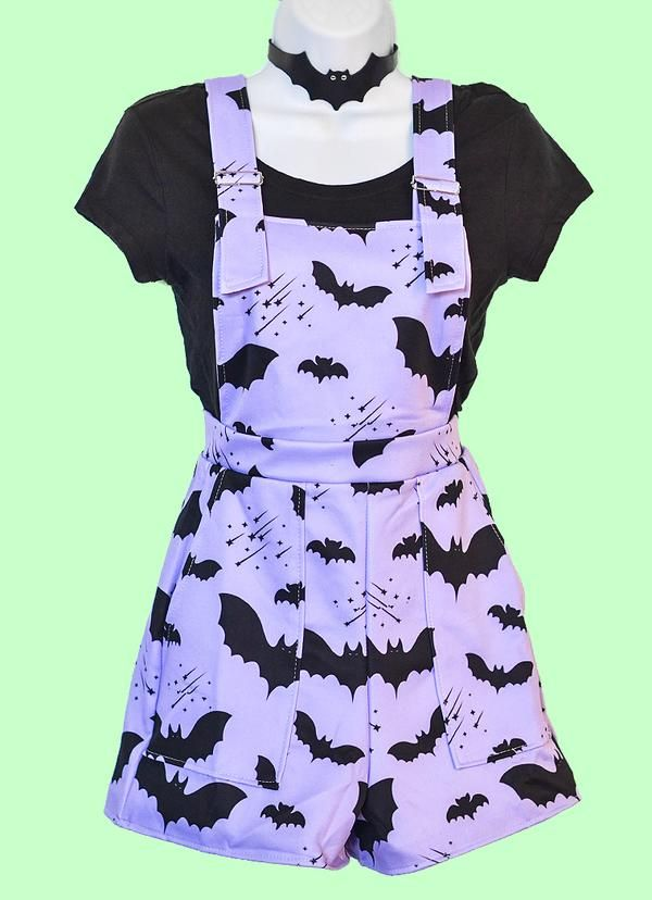 532a3e3778e Bat Pattern Overalls - In Control Clothing