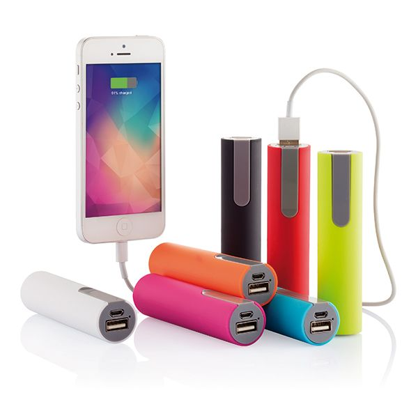 Compact and portable powerbank.