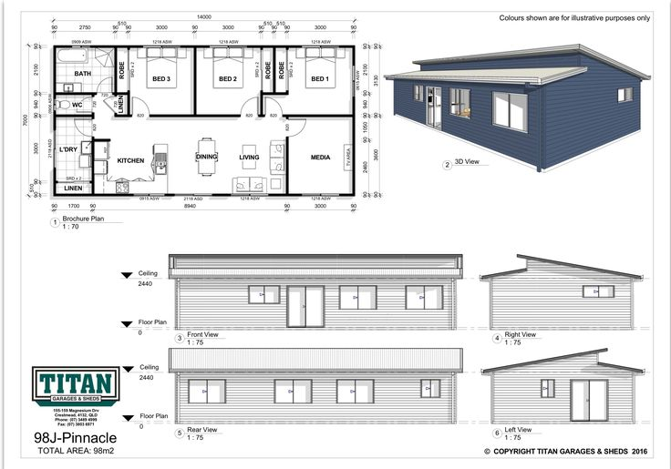 This three bedroom design offers fantastic street appeal as well as an outstanding interior layout. Featuring open plan living, luxurious bathroom with separate toilet, an ample laundry and plenty of storage. On top of all this there is also a generous media room or second living area. The clean, contemporary lines and open-plan design makes for a stunning yet practical home for the modern family.