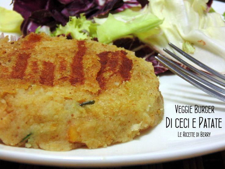 Veggie Burger di Ceci e Patate | Le Ricette di Berry - I veggie burger sono una fonte inesauribile di idee, sia per i vegetariani che per chi non lo è.