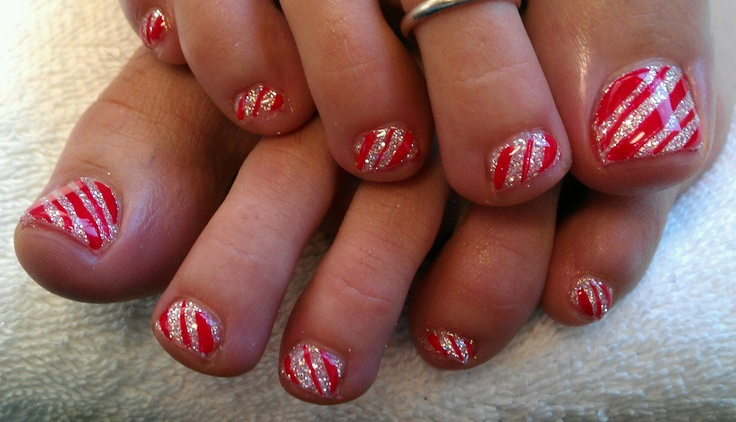 Gel Nails Designs For Toes