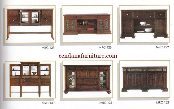 Katalog Buffet Minimalis MRC berisi gambar dan kode produk dengan desain minimalis yang memudahkan anda dalam mencari furniture yang diinginkan.
