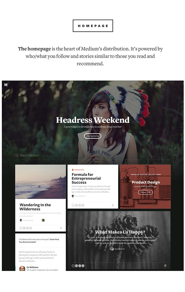 Medium.com on Web Design Served . home . stories . articles . awesome web layout . grid inspiration . layout inspiration . photographic