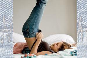 Как удлиннить севшие джинсы