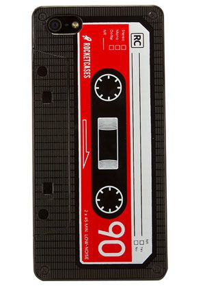 Retro Cassette Tape Case for iPhone 5