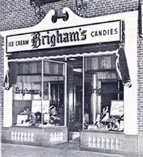 Brigham's Ice Cream in Boston, MA... JIMMIES!!!