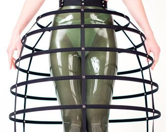 how to make a cage petticoat