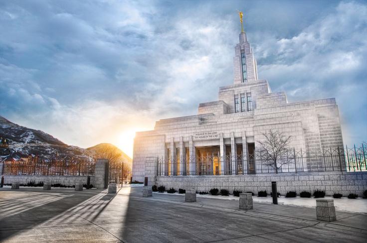 Draper Utah Temple - Session