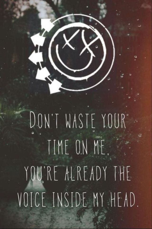 """Miss You"" by Blink 182 ... I hate when me and someone have a song and then this SONG makes me think of them"