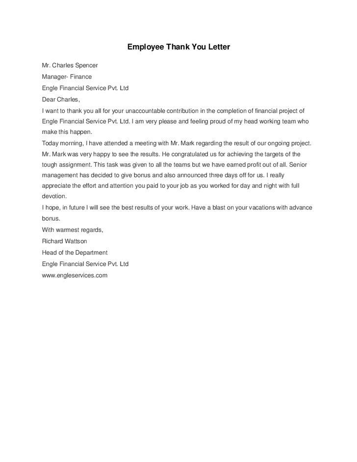 employee thank you letter hashdoc employer download free documents - employee thank you letter