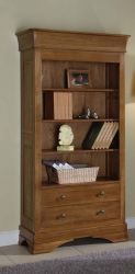 Chateau Oak Bookshelf http://solidwoodfurniture.co/product-details-oak-furnitures-3090-chateau-oak-bookshelf.html