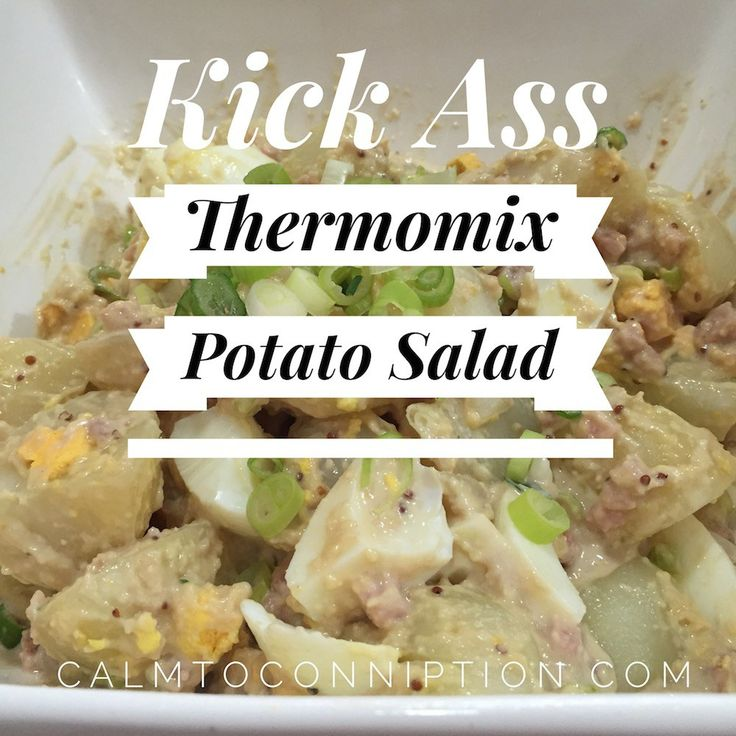Great step-by-step instructions for making #Thermomix mayonnaise and more: Thermomix Potato Salad