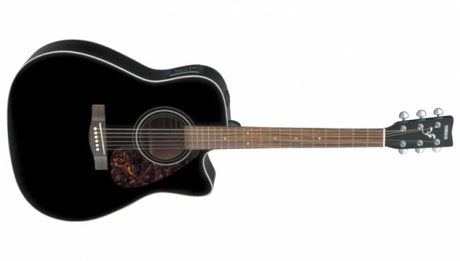 Yamaha FX370C BLACK Acoustic Guitar @ 22900. Quality and tone at an affordable price is the hallmark of our F Series guitars.