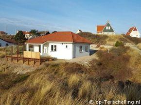 vakantiehuis De Duunt op terschelling vakantie eiland - 5-6 persoons familiehuis in de duinen van Midsland aan Zee