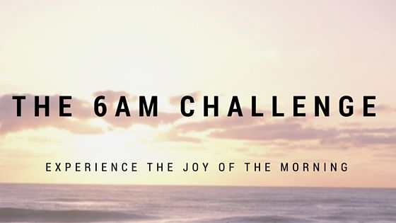 Welcome to the 6 AM Challenge discovering the benefits of waking up early. I have already noted this site is one of exploration, so what better way to test practical strategies than to condu…