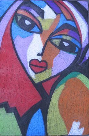 """Modern Woman 18x12"""" - By Linda Cheng Categories: #woman, #womanportrait, #womanart, #portrait, #womanoilpainting, #womanpainting, #artwork, #painting, #originalpainting, #drawing, #contemporaryart, #abstractart, #modernart, #contemporarypainting, #abstractpainting, #modernpainting, #womanpopart, #popart Linda Cheng: www.linda-cheng.com"""