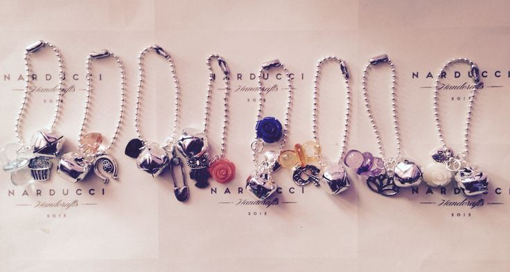 Mini collane in argento e vari charm per le OBag❣❣❣