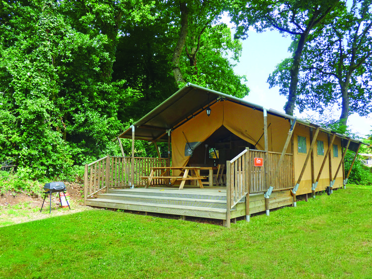 Camping Safari style at Domaine des Ormes, Northern Brittany http://www.canvasholidays.co.uk/france/brittany-north/br01x/domaine-des-ormes