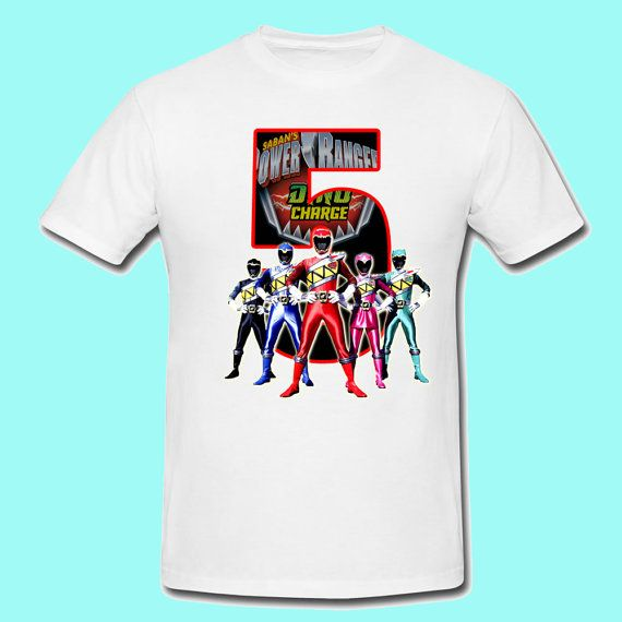 power rangers dino charge birthday shirt by PrettyTutuDesigns