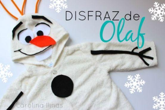 ¡Haz tu propio disfraz de OLAF y sin coser!   Blog de BabyCenter