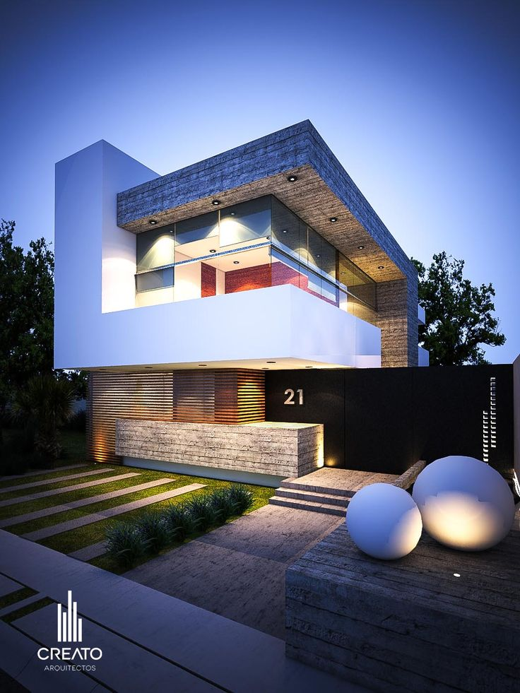 Beautiful modern architecture