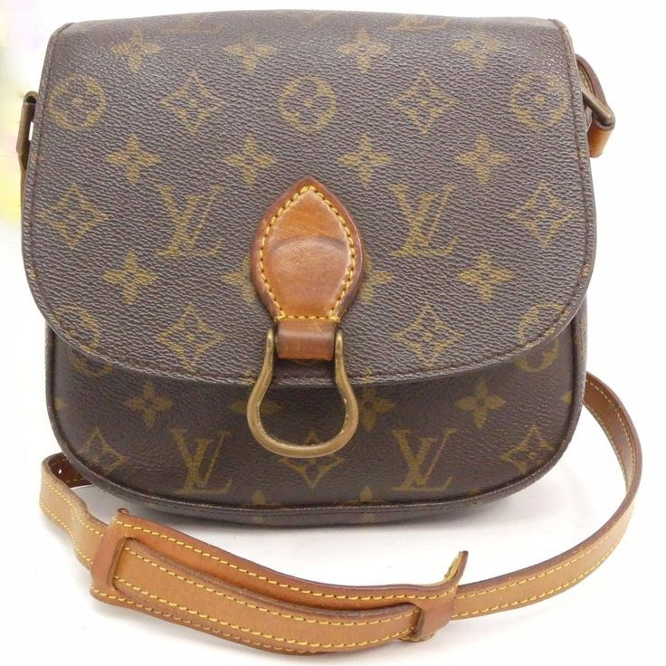 Louis Vuitton Mini Saint Cloud Crossbody Bag