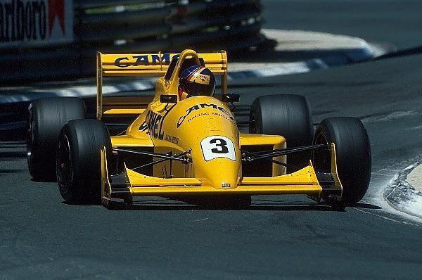 Heinz-Harald Frentzen - Reynard 90D Mugen/Smith - Eddie Jordan - L Grand Prix Automobile de Pau 1990 - International F3000 Championship 1990, Rd 3 - © Sutton Motorsport Images