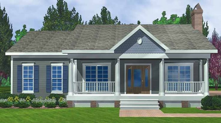 3 bedroom country floor plan 2