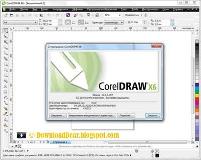 Amazing CorelDRAW Graphics Suite X Full Version only on DownloadDear blogspot Download for
