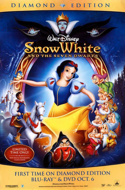 Snow White and the Seven Dwarfs (Biancaneve e i sette nani) - Disney (1937)