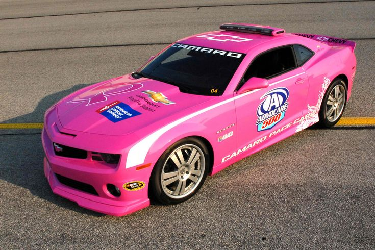 Girly Cars & Pink Cars Every Women Will Love!: Pink Chevy Camaro Nascar Peacec Car