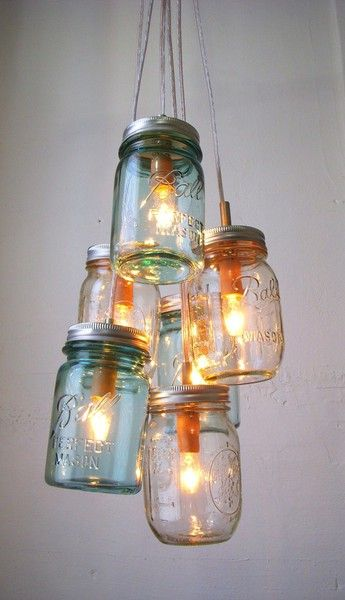 OooOOoo... with jars or with Christmas lights shoved into empty wine bottles. cherry_moon