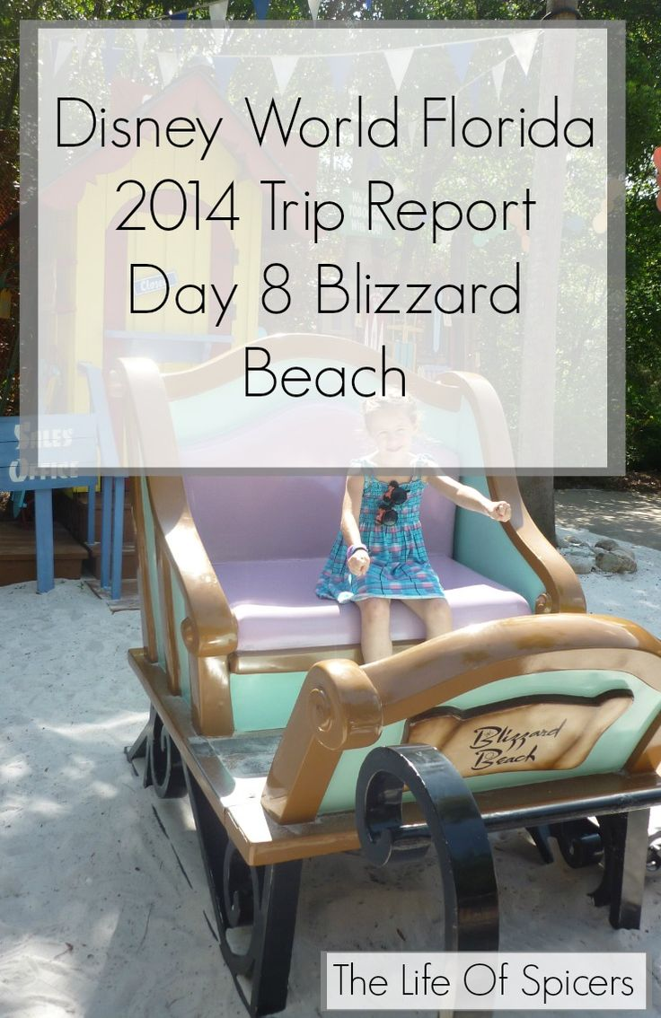 Disney World Florida 2014 Holiday Day 8 Blizzard Beach - The Life Of Spicers
