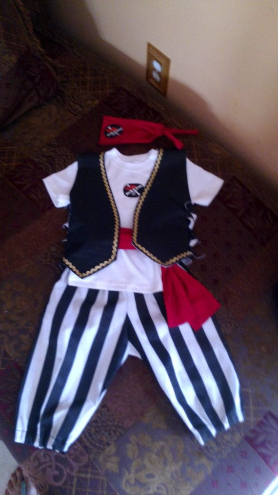Hey, I found this really awesome Etsy listing at https://www.etsy.com/listing/160963564/boys-pirate-costume-45-pieces
