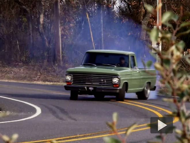 The extra fury and speed in KC Mathieu's 700hp 1968 Ford F100 makes the honey-do list a quicker task to finish.