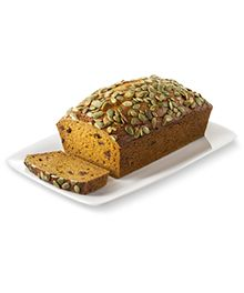 Pumpkin Bread Recipe with Truvía® Brown Sugar Blend and Pepita Seed Topping
