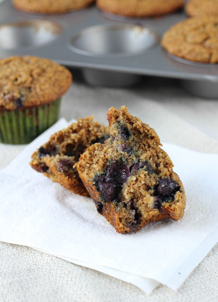 The Best Blueberry Banana Bran Muffins - I've made these a few times and they are great. Very moist and last well in the fridge.