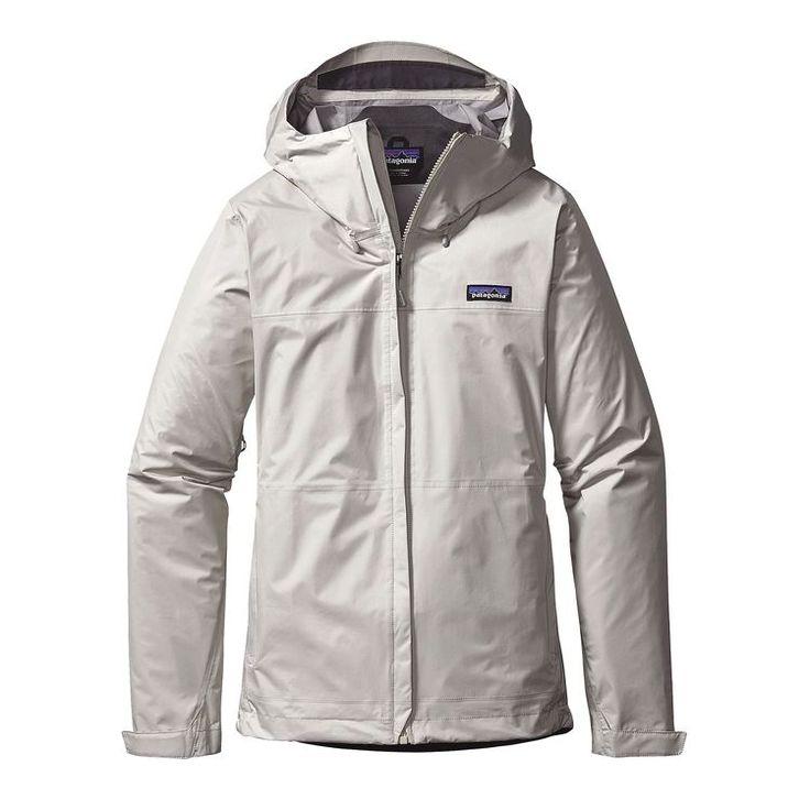 Patagonia Womens Torrentshell Jacket Birch White