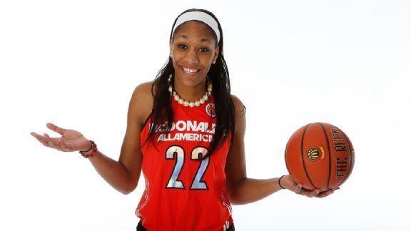 HoopGurlz -- South Carolina Gamecocks get commitment from A'ja Wilson, No. 1 prospect in espnW HoopGurlz Top 100 for 2014 recruiting class