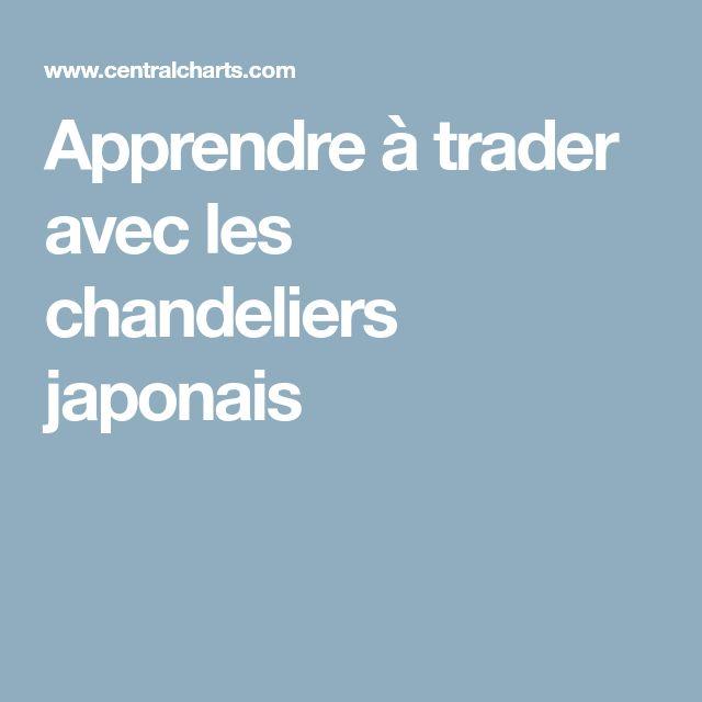 Apprendre à trader avec les chandeliers japonais