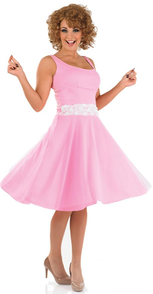 Ladies Dancing Girl Tv Film 80s 1980s Fancy Dress Costume Outfit 8-22 Plus Size