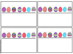 Μαθηματικά παιχνίδια με πασχαλινά αβγά