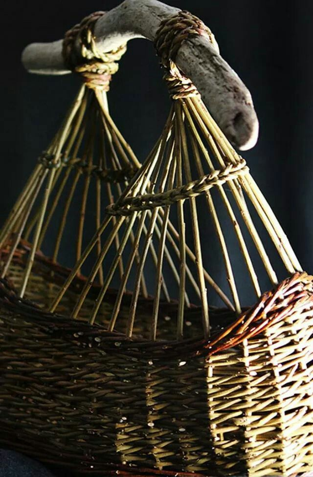 Willow Basket Weaving How To : Best images about willow work on