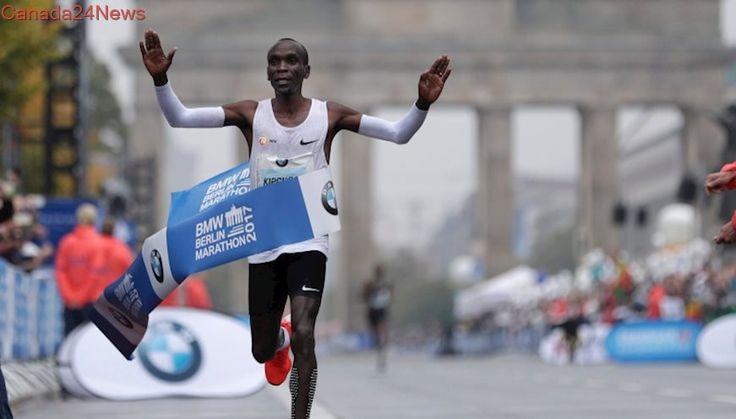 Olympic champion Kipchoge wins the 2017 Berlin Marathon
