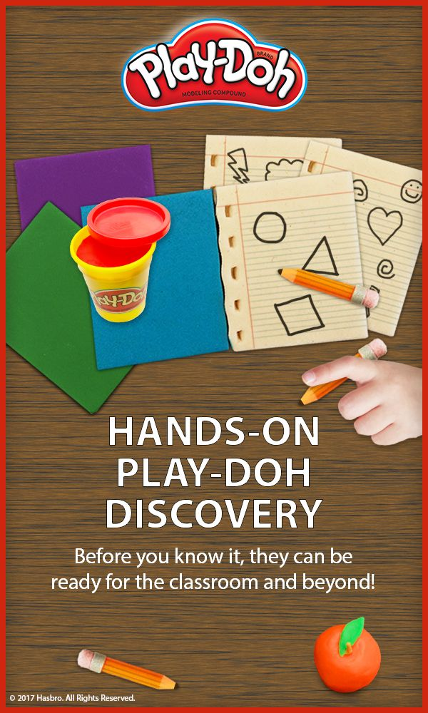 Kids can roll, cut, press and mold their way back to school, identifying their ABCs and 123s as they play!