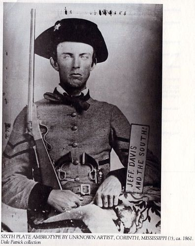 Corporal Joseph R Hargraves, Co D, 23rd Regiment Mississippi Volunteers.